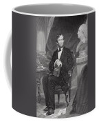Portrait Of Abraham Lincoln Coffee Mug by Alonzo Chappel
