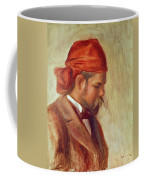 Portrait Of Ambroise Vollard 1868-1939 Oil On Panel Coffee Mug