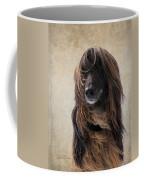 Portrait Of An Afghan Hound Coffee Mug