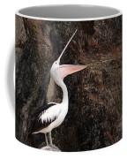 Portrait Of An Australian Pelican Coffee Mug