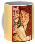 Portrait Of Andrew And Sarah Coffee Mug