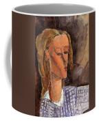Portrait Of Beatrice Hastings Coffee Mug