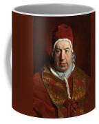 Portrait Of Benedict Xiv Coffee Mug