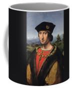 Portrait Of Charles Damboise 1471-1511 Marshal Of France Oil On Panel Coffee Mug