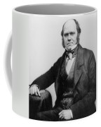Portrait Of Charles Darwin Coffee Mug by English Photographer