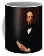 Portrait Of Charles Dickens Coffee Mug by Ary Scheffer