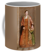 Portrait Of Countess Livia Da Porto Thiene And Her Daughter Deidamia Coffee Mug