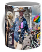 Portrait Of Doctor Luv In New Orleans Coffee Mug
