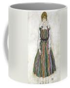Portrait Of Edith Schiele, The Artists Coffee Mug