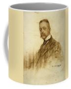 Portrait Of Emile Bertaux Coffee Mug