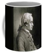 Portrait Of Emmanuel Kant Coffee Mug
