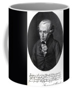 Portrait Of Emmanuel Kant  Coffee Mug by German School