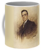 Portrait Of Enric Borras Coffee Mug