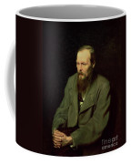 Portrait Of Fyodor Dostoyevsky Coffee Mug