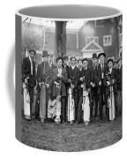 Portrait Of Golf Caddies Coffee Mug