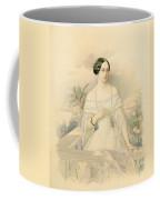 Portrait Of Grand Duchess Olga Nikolaevna Coffee Mug by Vladimir Ivanovich Hau