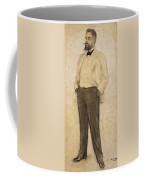 Portrait Of Hermenegild Miralles Coffee Mug