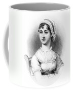 Portrait Of Jane Austen Coffee Mug by English School