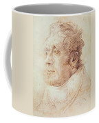 Portrait Of Jmw Turner Coffee Mug by Cornelius Varley