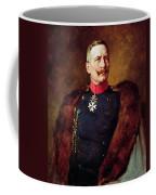 Portrait Of Kaiser Wilhelm II 1859-1941 Coffee Mug