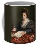 Portrait Of Laura Pisani Coffee Mug