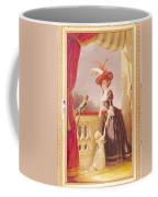 Portrait Of Louise-elisabeth De France 1727-59 Duchess Of Parma And Her Son Ferdinand 1751-1802 Coffee Mug