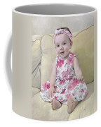 Portrait Of Maddie Coffee Mug by Guido Borelli