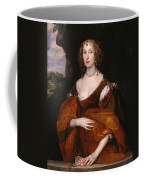 Portrait Of Mary Hill Coffee Mug