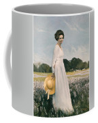 Portrait Of Mrs Lyndon B Johnson Coffee Mug by Mountain Dreams
