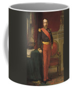 Portrait Of Napoleon IIi 1808-73 1862 Oil On Canvas Coffee Mug
