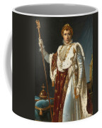 Portrait Of Napoleon In Coronation Robes Coffee Mug