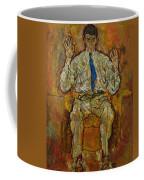 Portrait Of Paris Von Gutersloh Coffee Mug by Egon Schiele