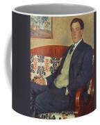 Portrait Of Peter Kapitza 1926 Coffee Mug