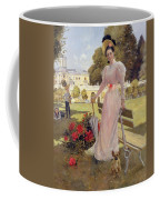Portrait Of Princess Z.n Yusupova With Her Two Sons At Arkhangelskoe Coffee Mug