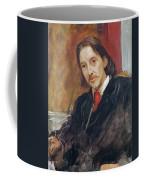 Portrait Of Robert Louis Stevenson 1850-1894 1886 Oil On Canvas Coffee Mug