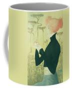 Portrait Of Sarah Bernhardt Coffee Mug by Manuel Orazi