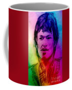 Rainbow Portrait Of Stevie Winwood Coffee Mug