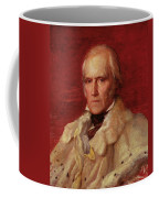 Portrait Of Stratford Canning 1786-1880, Viscount Stratford De Redcliffe 1856-7 Oil On Canvas Coffee Mug