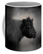 Portrait Of The Black Angus Coffee Mug