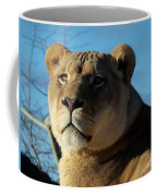 Portrait Of The Mighty Queen Coffee Mug