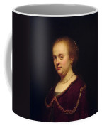 Portrait Of Young Lady Coffee Mug