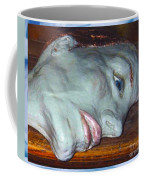 Portrait Sculpture Coffee Mug by Joan-Violet Stretch