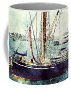 Portsmouth Harbour Boats Coffee Mug