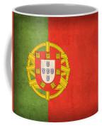 Portugal Flag Vintage Distressed Finish Coffee Mug