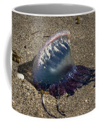 Portuguese Man-o War Beached Coffee Mug