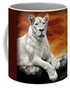 Posing Lioness Coffee Mug