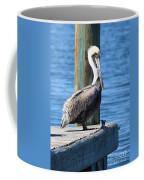 Posing Pelican Coffee Mug
