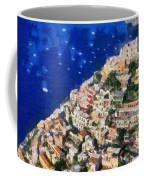 Positano Town In Italy Coffee Mug
