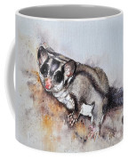 Possum Cute Sugar Glider Coffee Mug