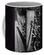 Post And Chain Fence Coffee Mug